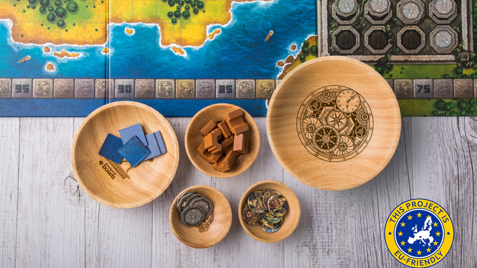 We're launching a larger bowl size and some sweet new artwork for Board Game Bowls.