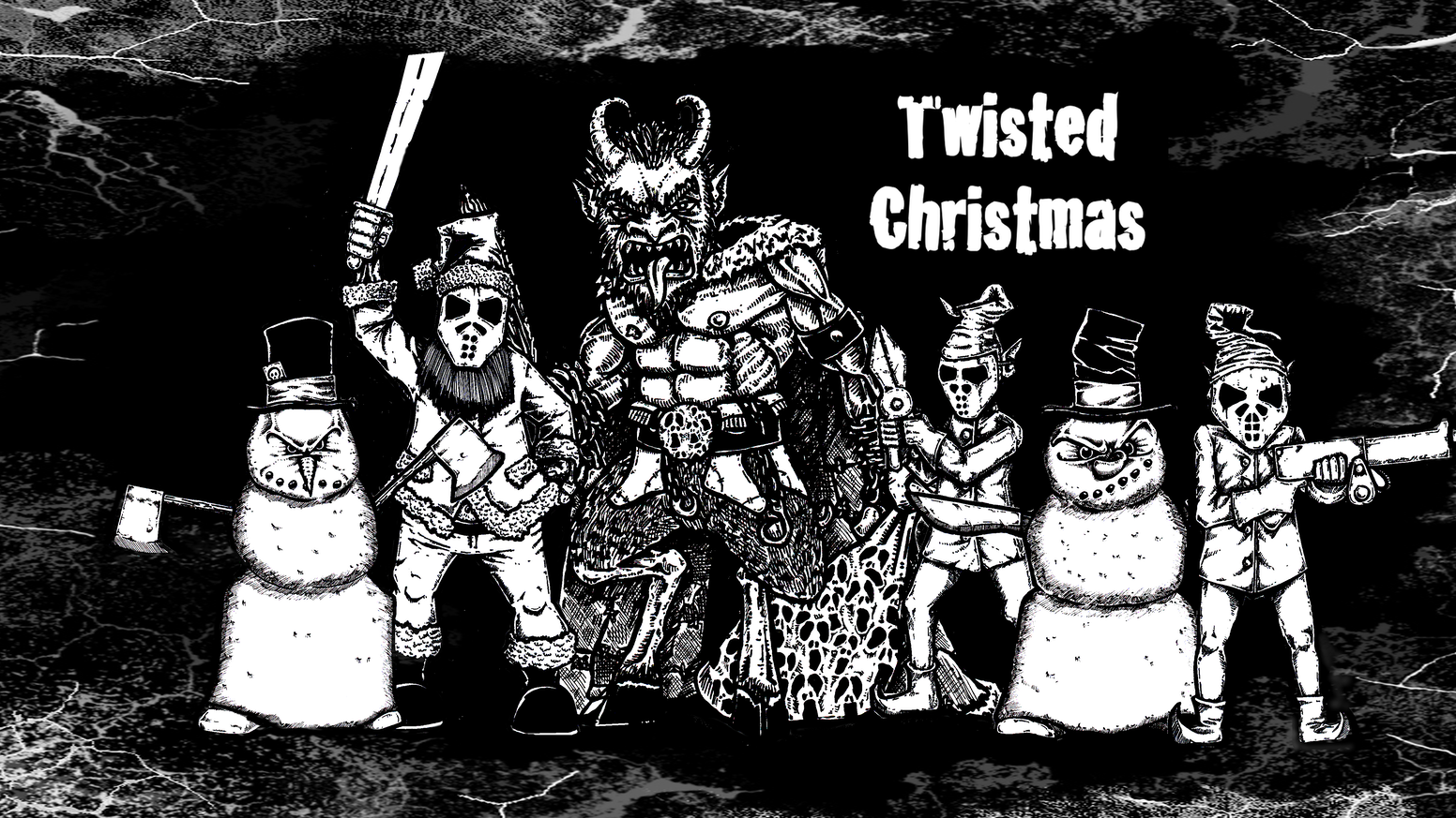 twisted christmas summoning the krampus - A Twisted Christmas