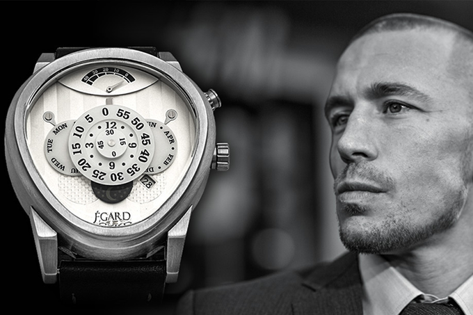 """""""To create something legendary, you partner with a legend."""" - Ilan Sruvolicz, Egard Watch Co."""