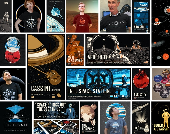 Space Exploration Related Designs by Chop Shop 2010-17