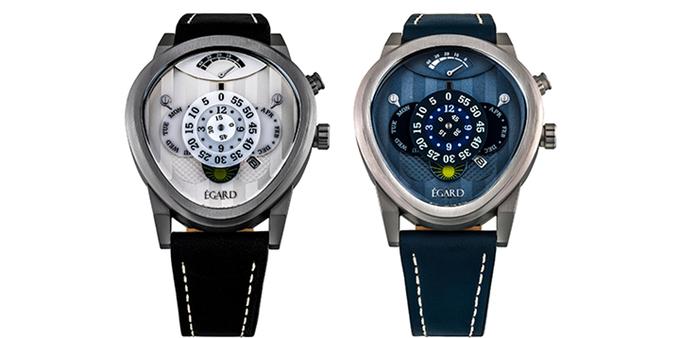 Classic: Steel/White (left) — Aqua: Steel/Blue (right)