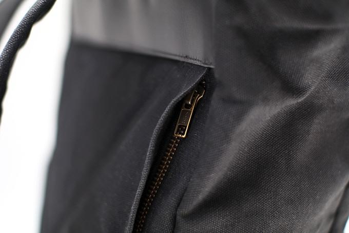 Hidden Quick Access Zipper