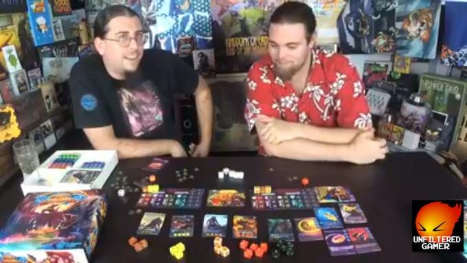 Live Stream on Unfiltered Gamer featuring Runes of Ragnarok!