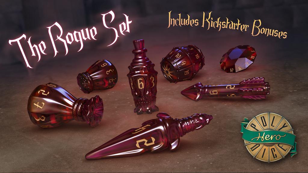 PolyHero Dice - Rogue Set project video thumbnail