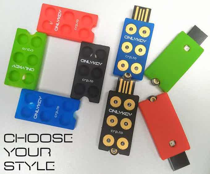 OnlyKey Color