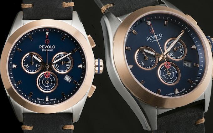 Revolo Chronograph with Ronda 5030D quartz movement