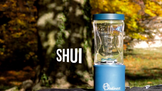 SHUI - Portable ultrafiltration water bottle