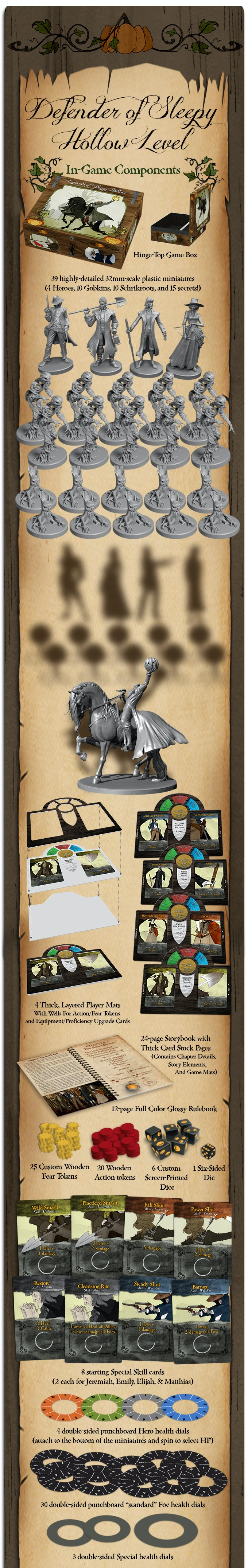 Legends of Sleepy Hollow by Dice Hate Me Games — Kickstarter