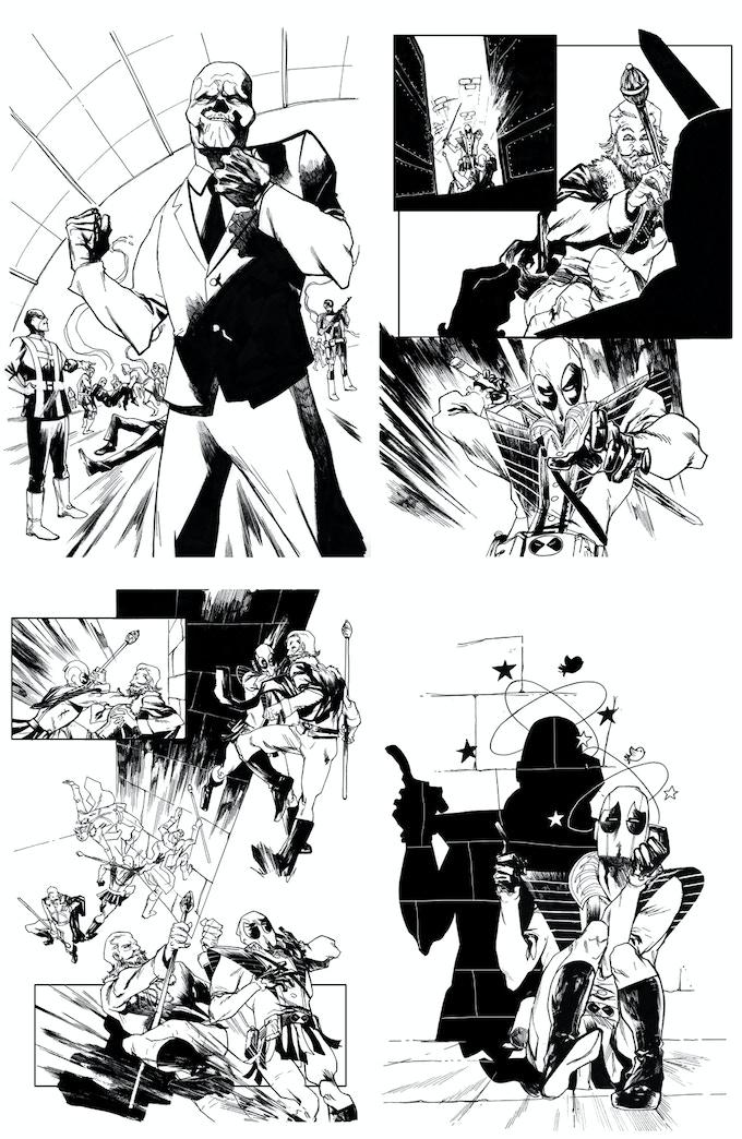 Original Marvel Artwork
