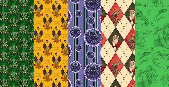 Gift wrap designs