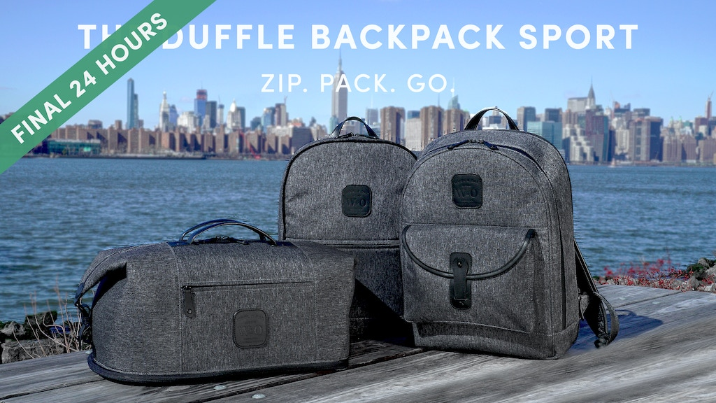 The 6-in-1 Duffle Backpack Sport   Any Trip, Any Condition project video thumbnail