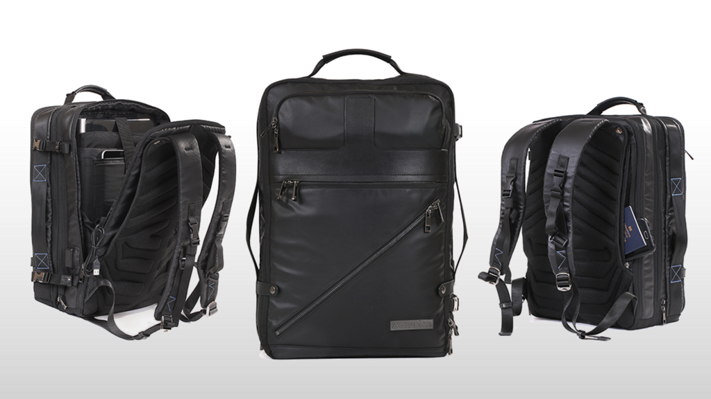 Agile your premium modular backpack for work travel by agile travel gear kickstarter for Travel gear brand