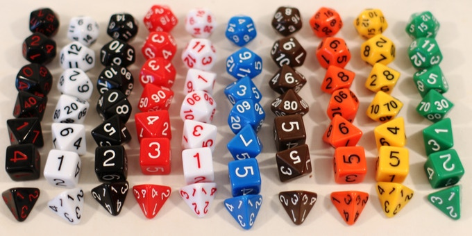 We're starting off with 10 sets of beautiful bright solid colors with painted numbers.