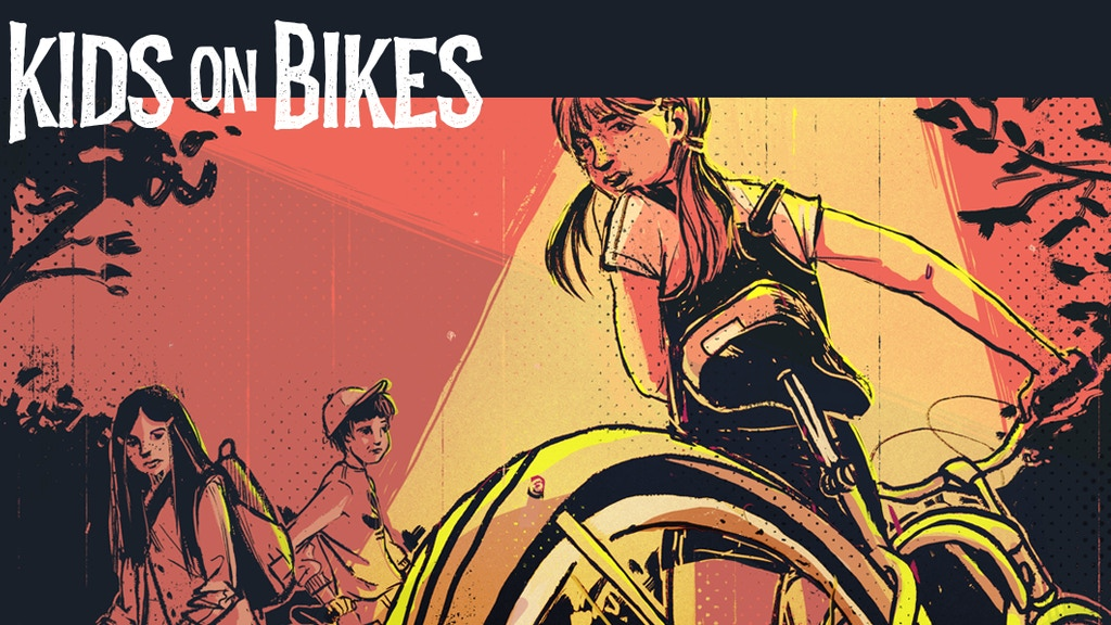 Kids on Bikes RPG - Strange Adventures in Small Towns project video thumbnail
