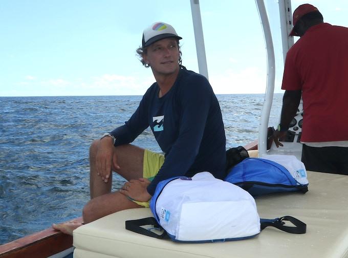 66793f6ae83e Deep Blue Bag – An Ocean Friendly Urban Adventure Pack by ...
