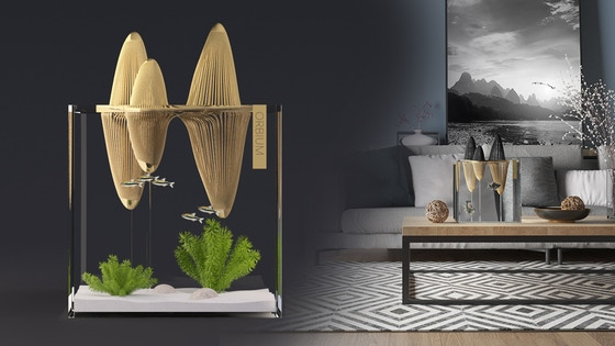 Orbium - Designer Aquarium Inspired by Chinese Landscapes