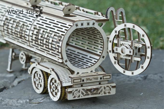 Big Rig Alarm Clock : Wood trick by llc — kickstarter