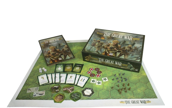 The Great War Centenary edition includes British and German armies.