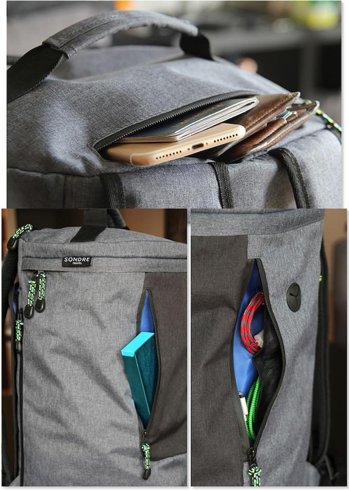 Exterior Pocket Design