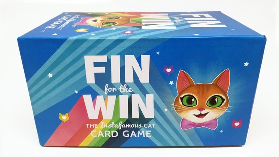 Fin For The Win: The Instafamous Cat Card Game