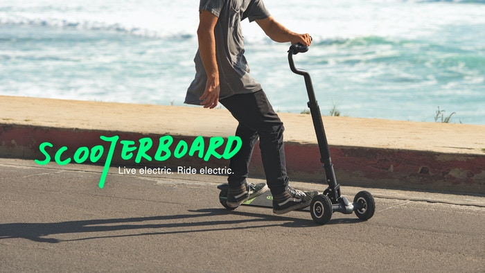 The electric rideable that's so unique and easy to use, anyone can ride it with confidence!