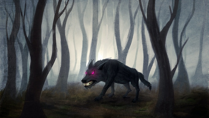 Although the wolf looks terrifying, he is actually kind, just, and willing to help. An unlikely friendship forms between him and Elpie when they realize they share a common enemy.