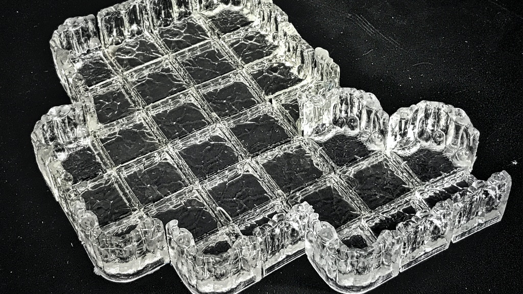 Project image for Ice Caverns : Gaming Terrain made from high-quality polymers