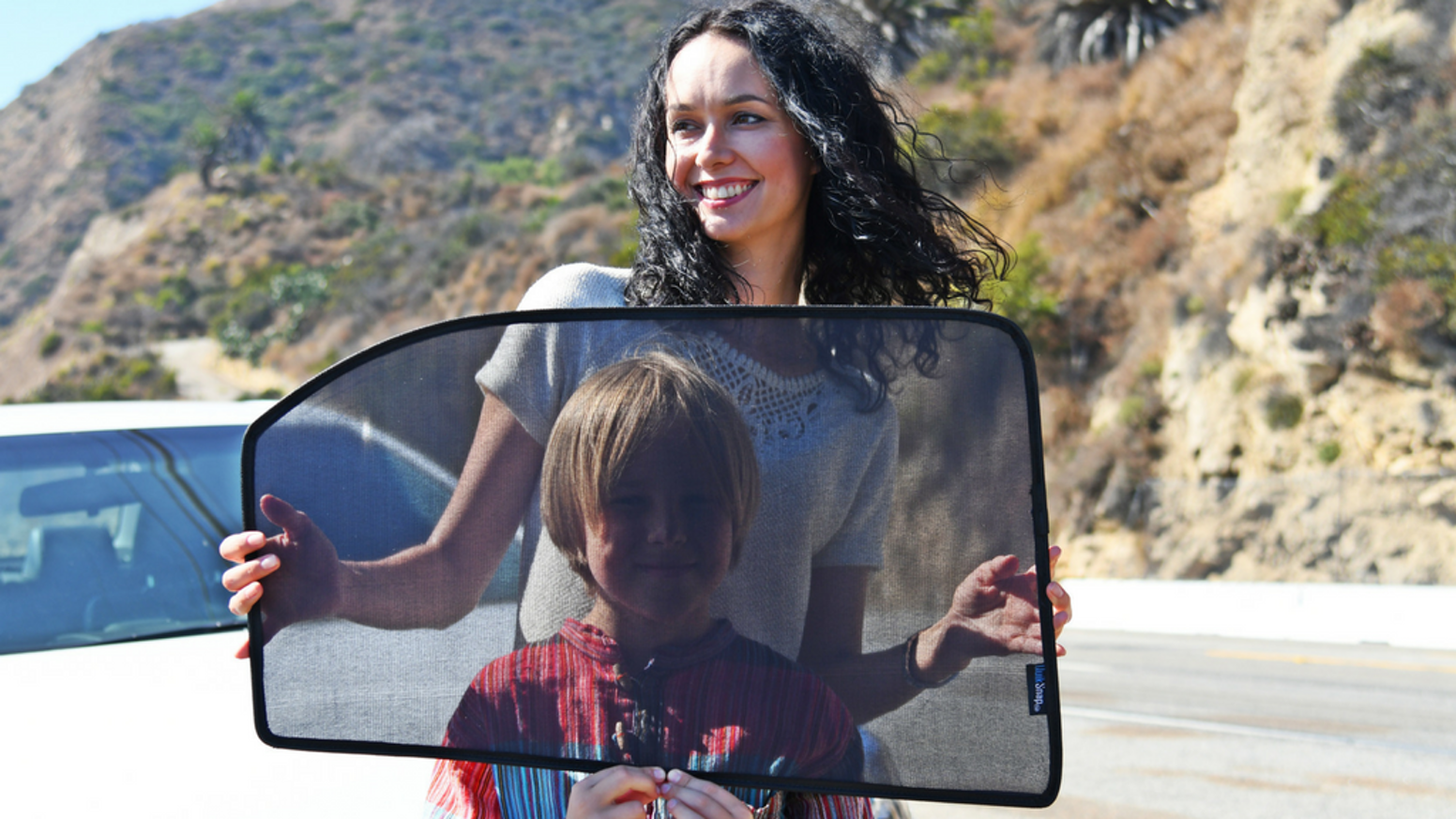 QuikSnap™ Car Window Sunshade: Customized Auto Shades