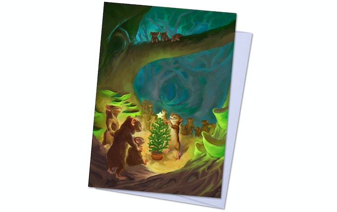 Dreamlands Pack 2, Card 3 - Happy Zoogs of Zoogville