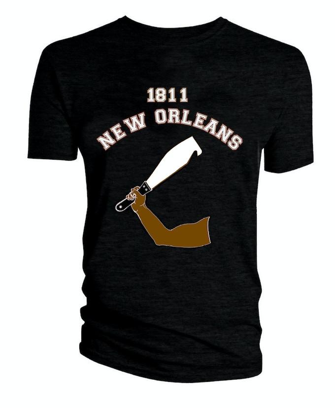 1811 New Orleans Revolt tee-shirt