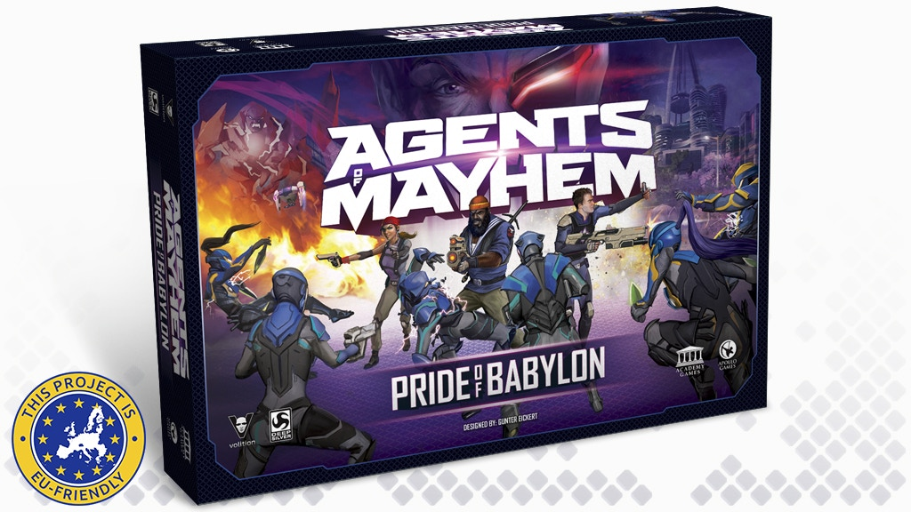 Agents of Mayhem: Pride of Babylon project video thumbnail