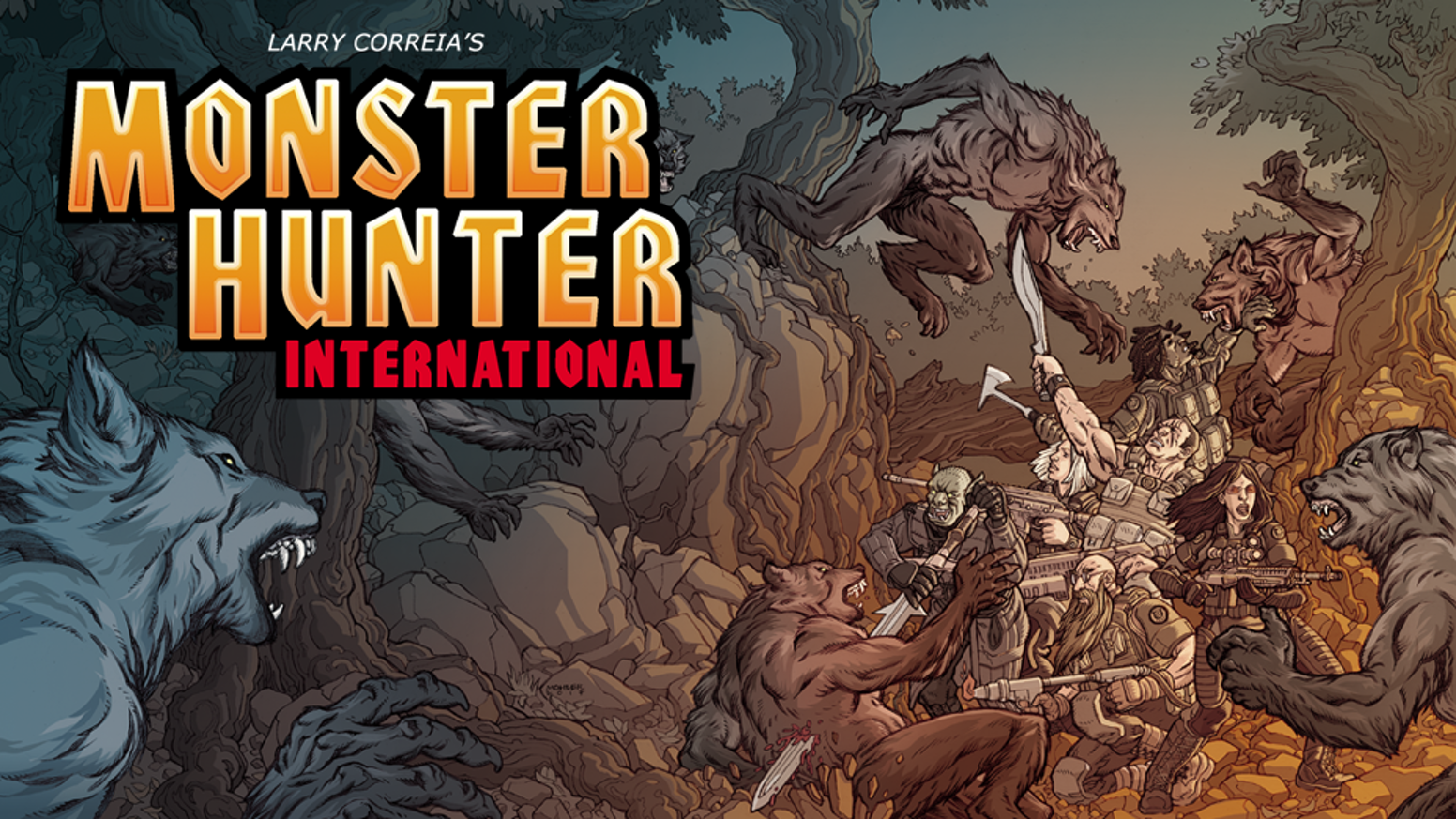 The NYT Bestselling action fantasy series Monster Hunter International comes to Savage Worlds in an all new Kickstarter!