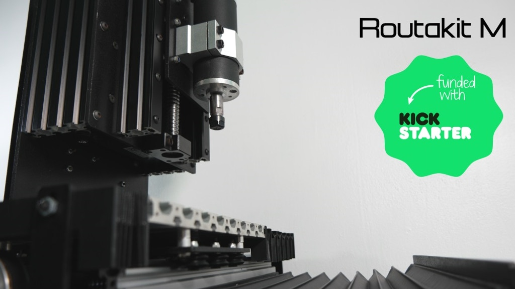Routakit M: The next level in desktop CNC performance project video thumbnail