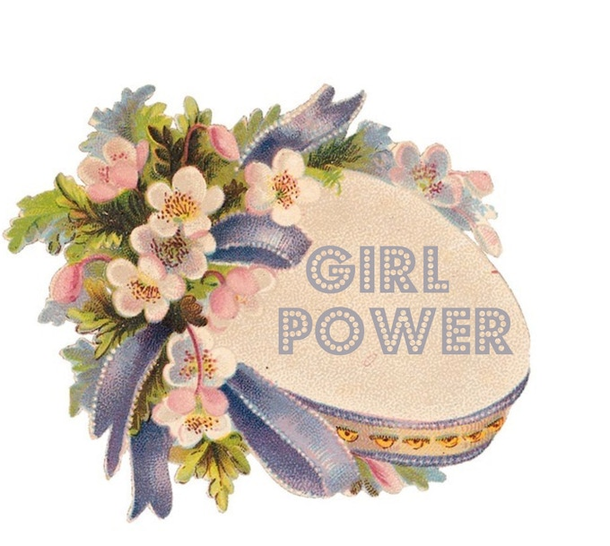 """""""Girl Power"""" patch approx 3""""x 2"""" limited edition"""