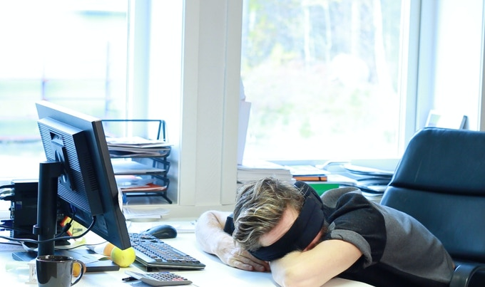 Work hard. Nap harder.