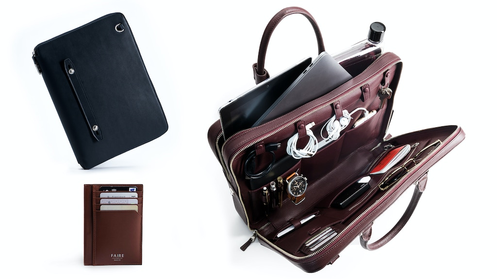 The Bond Collection | Travel Briefcase & Everyday Padfolio project video thumbnail