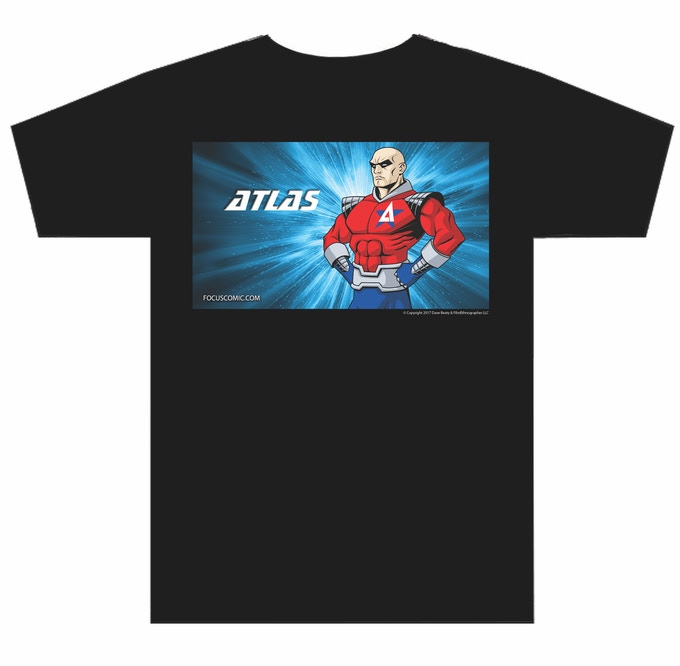 Atlas Tee shirt, Choose any size you want