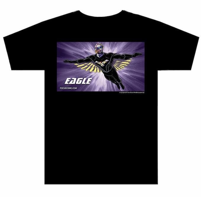 Eagle Tee shirt, Choose any size you want