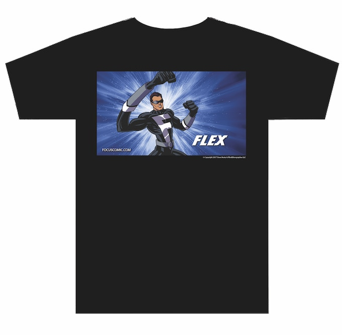 Flex Tee shirt, Choose any size you want