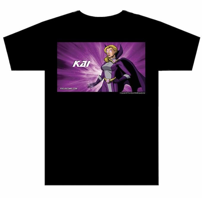 Kai Tee shirt, Choose any size you want