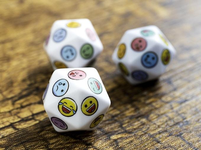 Twenty sided D20 dice