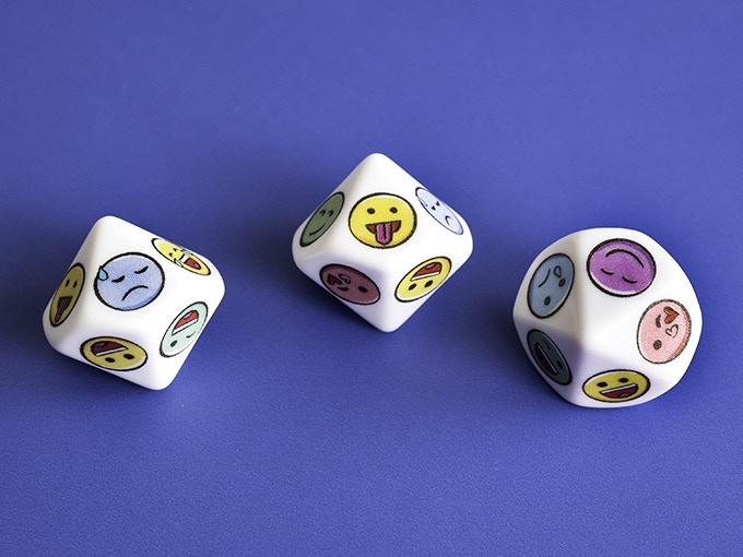 Ten sided D10 dice