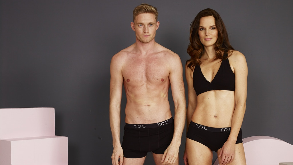 YOU - soft organic cotton underwear that gives back.