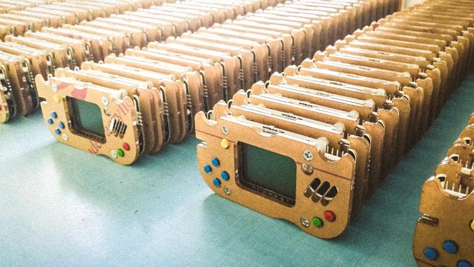 We shipped thousands of Gamebuino Classic worldwide already.