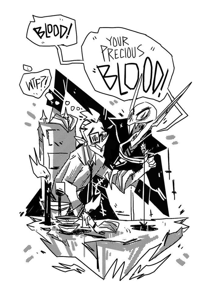 PRECIOUS BLOOD!