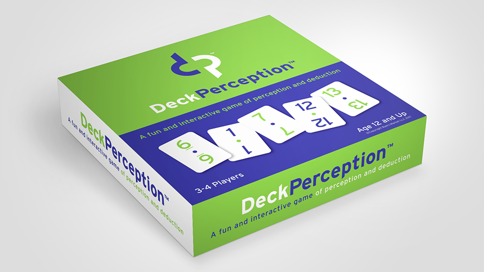 DeckPerception - A Fun and Interactive Tabletop Game by Byers Market