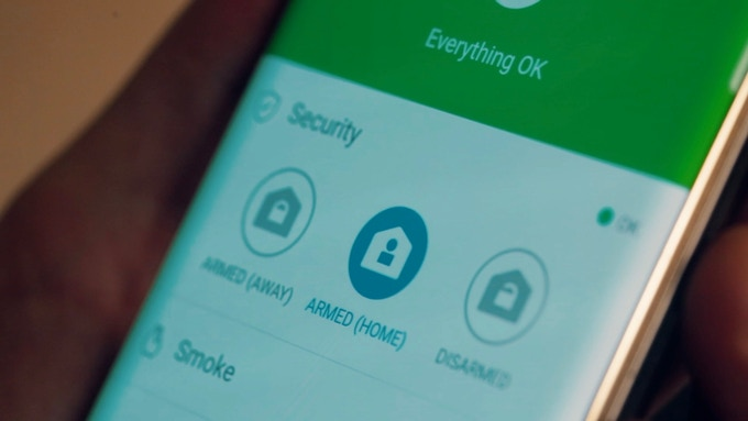 Seamlessly integrates with Smart Home Monitor in the SmartThings app