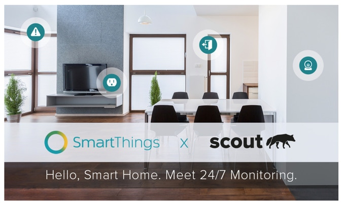 Konnected is not affiliated with SmartThings or Scout Alarm. We just think they're cool.