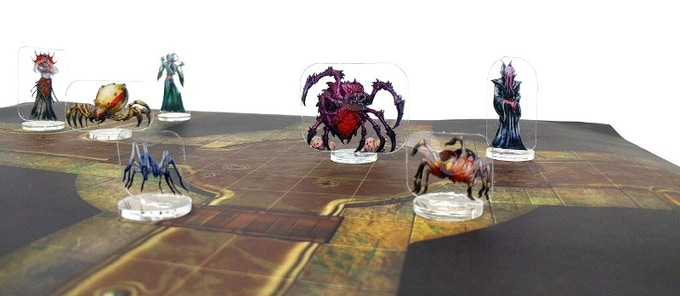 Flat Plastic Minis - infesting the sewers