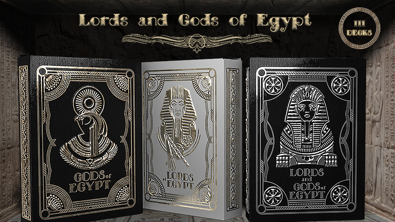 Lords and Gods of Egypt Playing Cards by SVI GROUP — Kickstarter